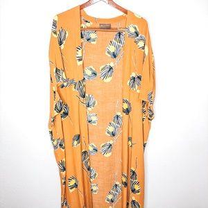 Bel Kazan Anthropologie Full Length Kimono